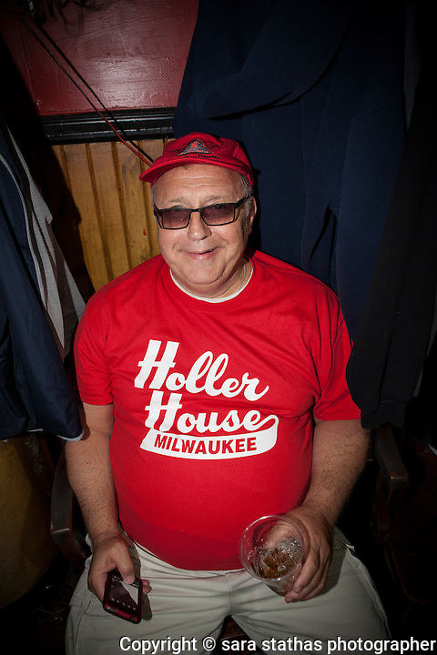 The Holler House Great Bra Rehanging party on June 14, 2013 in Milwaukee, Wisconsin