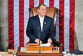 United States House Speaker John Boehner (Republican of Ohio) on the rostrum at the opening of the 112th Congress in the U.S. Capitol in Washington, D.C. on Wednesday, January 5, 2011..Credit: Ron Sachs / CNP.(RESTRICTION: NO New York or New Jersey Newspapers or newspapers within a 75 mile radius of New York City)