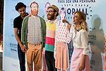 """Photocall de la presentación de la pelicula """"Requisitos para ser una persona normal"""" en los cines Palafox.<br /> (ALTERPHOTOS/BorjaB.Hojas)"""