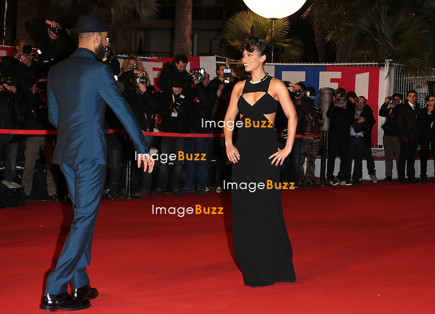 ALICIA KEYS & SWIZZ BEATZ/ January 26,, 2013- Alicia Keys & Swizz Beatz attend the NRJ Music Awards at Palais des Festivals in Cannes, France. ..