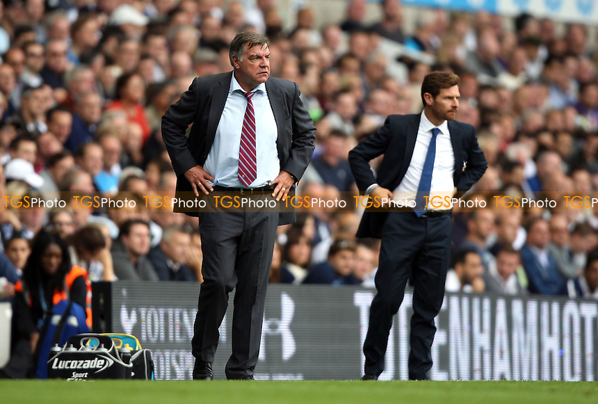 West Ham manager Sam Allardyce - Tottenham Hotspur vs West Ham United, Barclays Premier League at White Hart Lane, Tottenham - 06/10/13 - MANDATORY CREDIT: Rob Newell/TGSPHOTO - Self billing applies where appropriate - 0845 094 6026 - contact@tgsphoto.co.uk - NO UNPAID USE