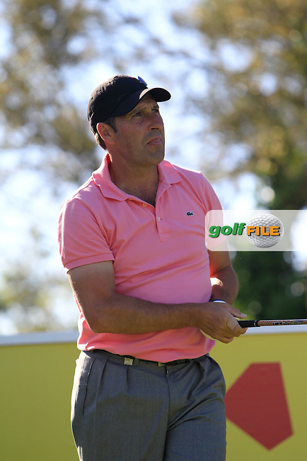 Jose Maria Olazabal (ESP) on the 13th tee during Thursday's Round 1 of The Open De Espana at The PGA Catalunya Resort. 15th May 2014.<br /> Picture:  Thos Caffrey / www.golffile.ie