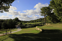 Looking down the 3rd during the Pro-Am of the Challenge Tour Grand Final 2019 at Club de Golf Alcanada, Port d'Alcúdia, Mallorca, Spain on Wednesday 6th November 2019.<br /> Picture:  Thos Caffrey / Golffile<br /> <br /> All photo usage must carry mandatory copyright credit (© Golffile | Thos Caffrey)