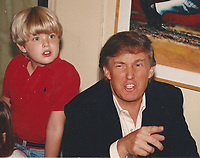 New York City<br /> 1992 <br /> Eric and Donald Trump<br /> Photo By John Barrett-PHOTOlink.net/MediaPunch