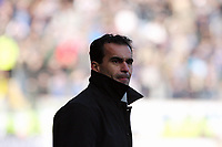 Pictured: Roberto Martínez Manager of Swansea City in action<br /> Re: Coca Cola Championship, Swansea City FC v Cardiff City at the Liberty Stadium. Swansea, south Wales, Sunday 30 November 2008.<br /> Picture by D Legakis Photography / Athena Picture Agency, Swansea 07815441513