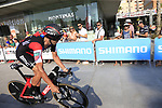 Francisco Jose Ventoso (ESP) BMC Racing Team during Stage 1 of the La Vuelta 2018, an individual time trial of 8km running around Malaga city centre, Spain. 25th August 2018.<br /> Picture: Ann Clarke | Cyclefile<br /> <br /> <br /> All photos usage must carry mandatory copyright credit (© Cyclefile | Ann Clarke)