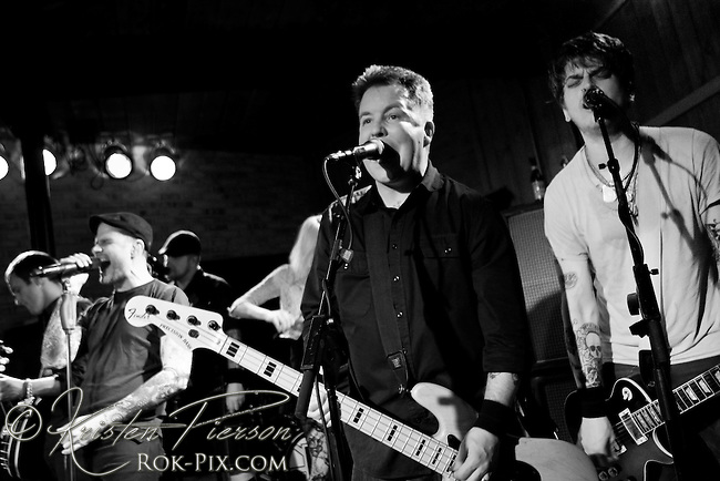 Dropkick Murphys performing at the Whiskey Republic in Providence on March 14, 2011