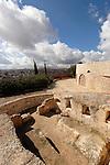 Israel, Jerusalem, Burial site on Mount Scopus<br />