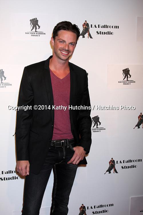 LOS ANGELES - MAR 31:  Brian Fortuna at the LA Ballroom Studio Grand Opening at LA Dance Studio on March 31, 2014 in Sherman Oaks, CA