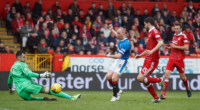 Kenny Miller scores the second goal