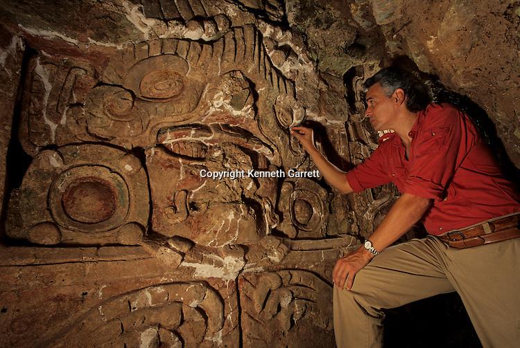 Ricardo Agurcia Fasquelle, Maya, Copan, Honduras, Classic period