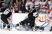 Rob Maloney (PC - 18), Alex Chiasson (BU - 9), Alex Beaudry (PC - 35), Myles Harvey (PC - 44) - The Boston University Terriers defeated the visiting Providence College Friars 6-1 on Friday, January 20, 2012, at Agganis Arena in Boston, Massachusetts.