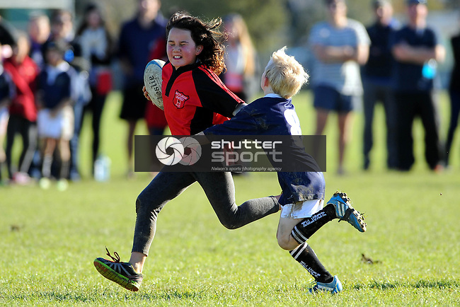 Junior rugby Motueka Utd v Nelson. Sports Park, Motueka, Nelson, New Zealand. Saturday 30 May 2014. Photo: Chris Symes/www.shuttersport.co.nz