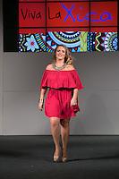 SÃO PAULO, SP, 24.07.2016 - MODA-SP - Desfile da marca Xica Vaidosa durante o 14 Fashion Weekend Plus Size que acontece neste domingo, 24 no Centro de Convenções Frei Caneca.(Foto: Ciça Neder/Brazil Photo Press)