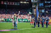 Portland, Oregon - Sunday June 2, 2019: The Portland Thorns defeated the Chicago Red Stars 3-0 in a regular season NWSL game at Providence Park., 2019: The Portland Thorns defeated the Chicago Red Stars 3-0 in a regular season NWSL game at Providence Park.