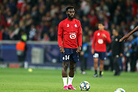 Jonathan Bamba of Lille OSC before Lille OSC vs Chelsea, UEFA Champions League Football at Stade Pierre-Mauroy on 2nd October 2019
