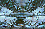 Great Buddha Detail, Kotokuji Temple, Kamakura, Japan