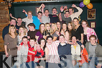 21ST: Enjoying his 21st birthday with friends and family in the Cliff House Hotel, Ballybunion, on Saturday night was John Harty (front centre)..