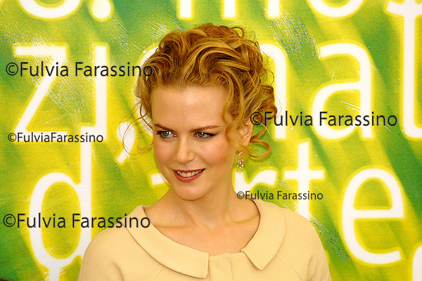 2001, 58a Mostra Internazionale d'Arte Cinematografica di Venezia,58th Venice International Film Festival, Nicole Kidman