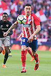 Atletico de Madrid Jose Maria Gimenez during La Liga match between Atletico de Madrid and Athletic Club and Wanda Metropolitano in Madrid , Spain. February 18, 2018. (ALTERPHOTOS/Borja B.Hojas)