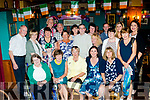 looking 59<br /> --------------<br /> Helen Collins, seated centre, from Ballyheigue, celebrated her 60th birthday last Saturday night in the White Sands hotel along with many friends and family.