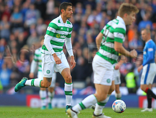 23.10.2016. Hampden Park, Glasgow, Scotland. Betfred Cup Semi Final Football. Rangers versus Celtic. Nir Bitton