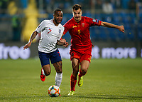 Raheem Sterling of England and Stefan Mugosa of Montenegro  <br /> Podgorica 25-3-2019 <br /> Football Euro2020 Qualification Montenegro - England <br /> Foto Daniel Chesterton / PHC / Insidefoto <br /> ITALY ONLY