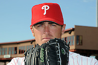 Feb 20, 2009; Clearwater, FL, USA; The Philadelphia Phillies pitcher Brett Myers (39) during photoday at Bright House Field. Mandatory Credit: Tomasso De Rosa/ Four Seam Images