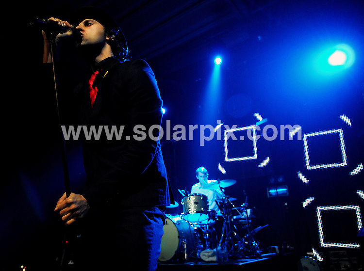 **ALL ROUND PICTURES FROM SOLARPIX.COM**.**WORLDWIDE SYNDICATION RIGHTS**.Maximo Park performing live in Doncaster Dome, UK. 5th October 2007.JOB REF:  4945  GRK        DATE: 05_10_2007.**MUST CREDIT SOLARPIX.COM OR DOUBLE FEE WILL BE CHARGED* *UNDER NO CIRCUMSTANCES IS THIS IMAGE TO BE REPRODUCED FOR ANY ONLINE EDITION WITHOUT PRIOR PERMISSION*