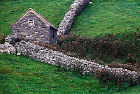 Rustic stone farm shed, Ireland