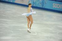OLYMPICS: SOCHI: Iceberg Skating Palace, 12-02-2014, Figure Skating, Carolina Kostner, ©foto Martin de Jong