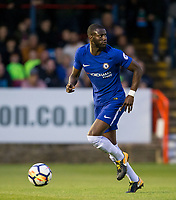 Joseph COLLEY of Chelsea during the U23 Premier League 2 match between Chelsea and Manchester United at the EBB Stadium, Aldershot, England on 18 September 2017. Photo by Andy Rowland.
