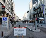 20080110 - France - Aquitaine - Pau<br /> TOUT LE CENTRE-VILLE DE PAU EST INTERDIT AUX VOITURES : SEULS PASSENT LES BUS, NAVETTES GRATUITES, VELOS ET PIETONS.<br /> Ref : CENTRE_PIETONNIER_012.jpg - © Philippe Noisette.