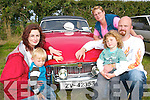 Vintage watch: Taking in some vintage sights at the Lisselton Vintage and Family Fun Day on Sunday were Noreen, Rian, Martin, Jack and Nancy Brosnan from Firies..   Copyright Kerry's Eye 2008
