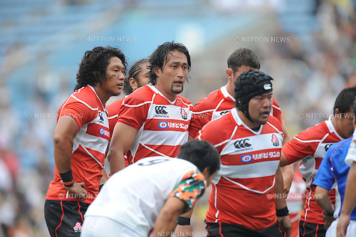 Hitoshi Ono (JPN), JUNE 26th, 2011 - Rugby : Charity match between Japan national team 49-7 Top League XV at Prince Chichibu Memorial Stadium in Tokyo, Japan. (Photo by Hitoshi Mochizuki/AFLO)