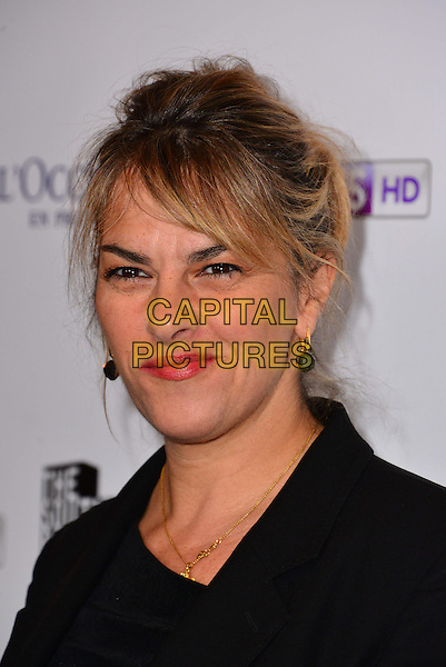Tracey Emin.attended the South Bank Sky Arts Awards 2013, Dorchester Hotel, Park Lane, London, England..March 12th, 2013.headshot portrait black .CAP/BF.©Bob Fidgeon/Capital Pictures.