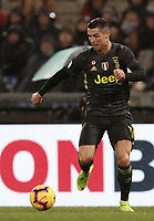 Football, Serie A: S.S. Lazio - Juventus, Olympic stadium, Rome, January 27, 2019. <br /> Juventus' Cristiano Ronaldo in action during the Italian Serie A football match between S.S. Lazio and Juventus at Rome's Olympic stadium, Rome on January 27, 2019.<br /> UPDATE IMAGES PRESS/Isabella Bonotto