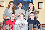 CAKE SALE: Photographed at the Tarbert Youth Club Cake Sale on Sunday were, front l-r: Evelyn Stack, Ciara Holly and Sorcha Stack. Back l-r: Alison Healy, Casey OLeary and Orla Cregan..