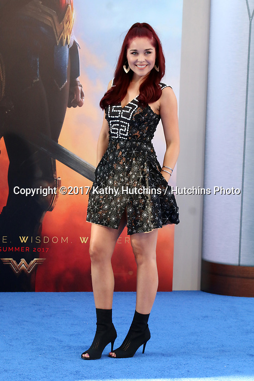"LOS ANGELES - MAY 25:  Erin Robinson at the ""Wonder Woman"" Los Angeles Premiere at the Pantages Theater on May 25, 2017 in Los Angeles, CA"