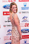 "Mireia Belmonte during the ""As sports Awards"" at Palace Hotel in Madrid, Spain. december 19, 2016. (ALTERPHOTOS/Rodrigo Jimenez)"
