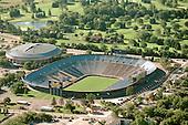 October 2000. Empty Michigan Stadium aerial