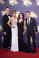 Craig Revel Horwood, Darcey Bussell, Shirley Balass and Bruno Tonioli<br /> at the launch of the new series of &quot;Strictly Come Dancing, New Broadcasting House, London. <br /> <br /> <br /> &copy;Ash Knotek  D3298  28/08/2017