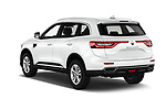 Car pictures of rear three quarter view of a 2017 Renault Koleos Zen 5 Door SUV angular rear