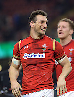 Sam Warburton of Wales during the RBS 6 Nations Championship rugby game between Wales and Scotland at the Principality Stadium, Cardiff, Wales, UK Saturday 13 February 2016