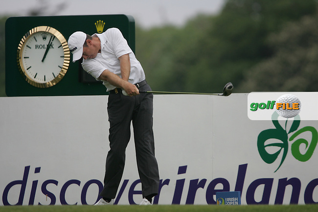 Gary Orr tees off on the 10th hole during the third round of the 2008 Irish Open at Adare Manor Golf Resort, Adare,Co.Limerick, Ireland 17th May 2008 (Photo by Eoin Clarke/GOLFFILE)