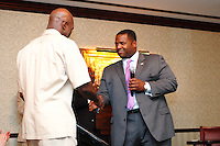 Celebration with Evander Holyfield at the 191 Club Atlanta, GA.  Evander Holyfield is a five time World Heavyweight Boxing Champion