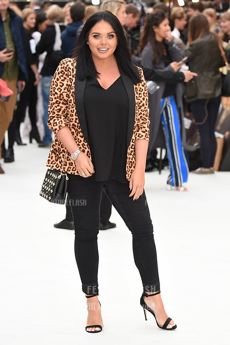 LONDON, UK. September 12, 2018: Scarlett Moffatt at the World Premiere of &quot;King of Thieves&quot; at the Vue Cinema, Leicester Square, London.<br /> Picture: Steve Vas/Featureflash