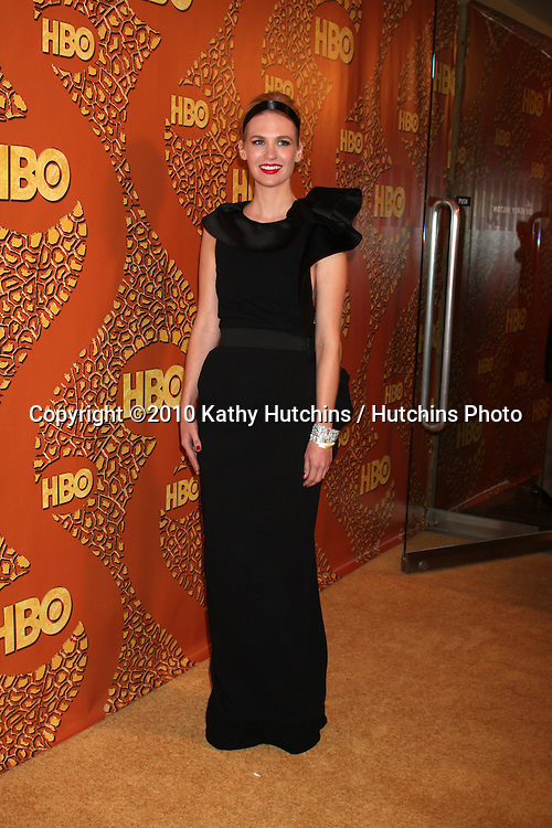 January Jones.arriving at the 67th Annual Golden Globe Awards Official HBO After Party.Beverly Hilton Hotel.Beverly Hills, CA.January 17, 2010.©2010 Kathy Hutchins / Hutchins Photo....