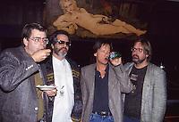 Stephen King,Al Kooper,Dave Barry &<br /> Matt Groening 1992 by Jonathan Green