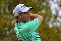 Padraig Harrington (IRL) watches his tee shot on 10 during day 3 of the Valero Texas Open, at the TPC San Antonio Oaks Course, San Antonio, Texas, USA. 4/6/2019.<br /> Picture: Golffile | Ken Murray<br /> <br /> <br /> All photo usage must carry mandatory copyright credit (&copy; Golffile | Ken Murray)